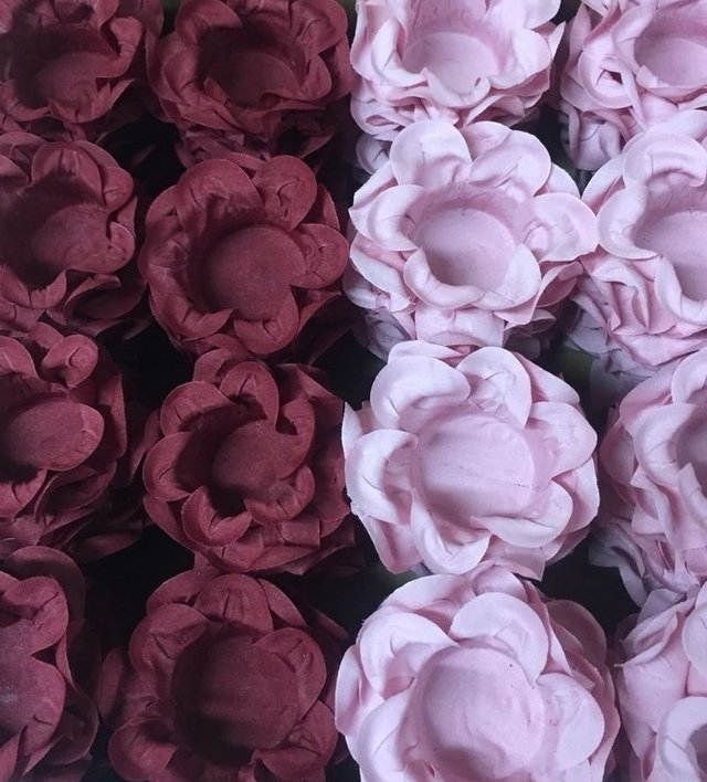 Fabric Flower Wrappers for Sweets Little Kiss (30 pieces) on internet