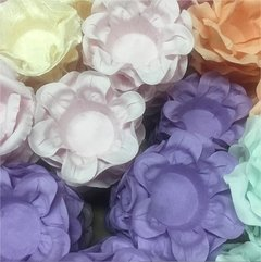 Fabric Flower Wrappers for Sweets Little Kiss (100 pieces) - online store