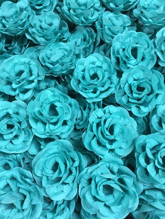 Fabric Flower for Wedding Decoration Model G (30 pieces) - buy online