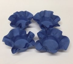 Kit of Wrappers for Wedding Sweets in Blue (50 pieces)