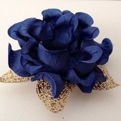 fabric-flower-wrappers-for-wedding-sweets-blue-isis