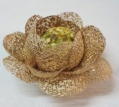 Fabric Flower Wrapper for Sweets Bloomed Camellia (30 pieces)