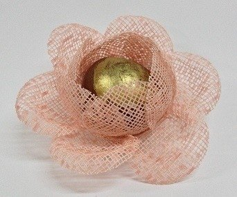 Fabric Flower Wrapper for Sweets Bloomed Camellia (30 pieces) - online store