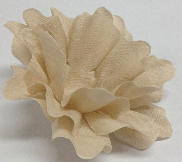 Image of Fabric Flower for Wedding Sweets Nádia (30 pieces)