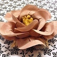Fabric Flower Wrappers for Wedding Sweets Cecilia (30 pieces) - buy online