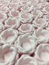 Fabric Flower Wrappers for Wedding Sweets Helena (30 pieces)