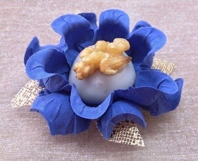 Fabric Flowers Wrappers for Wedding Isis Baby (30 pieces) - online store