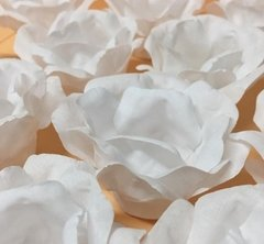 Fabric Flower Wrappers for Wedding Sweets Beatriz (100 pieces) - buy online
