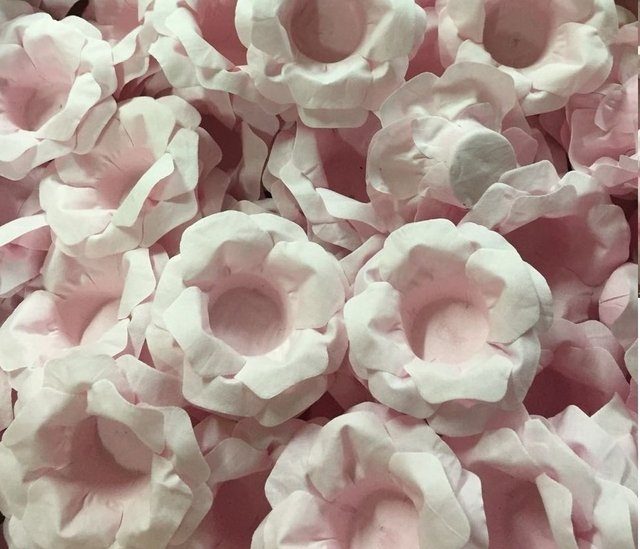 Fabric Flower for Wedding Sweets Carol (30 pieces)