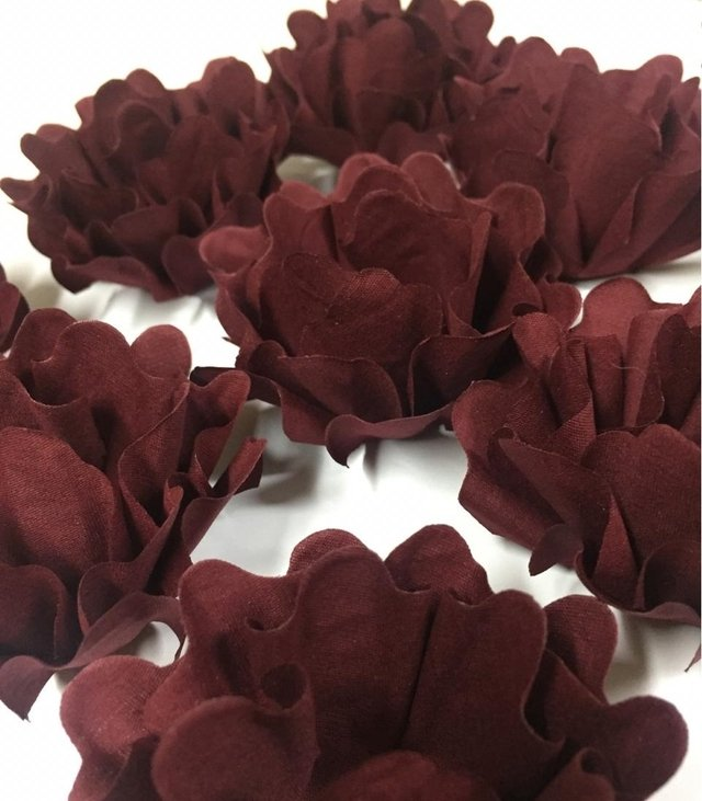 Fabric Flower for Wedding Sweets Nádia (30 pieces) - buy online
