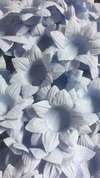 Fabric Flower Wrappers for Wedding Sweets Daisy (30 pieces) - online store