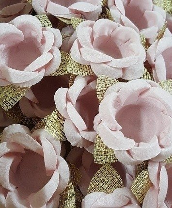 Fabric Flower Wrappers for Wedding Sweets Maira (30 pieces) - online store