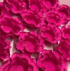Fabric Flower Wrappers for Sweets Little Kiss (100 pieces)