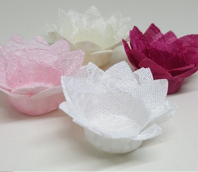 Wrappers fro Wedding Sweets Daisy in Lace (30 pieces) - buy online
