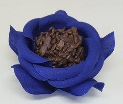 fabric-flower-wrappers-for-wedding-sweets-blue-camellia