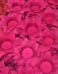 Fabric Flower Wrappers for Wedding Sweets Daisy (100 pieces) - online store
