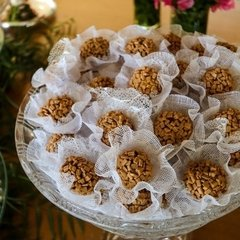 Wrapper for Wedding Sweets Basic in Ecomesh (100 pieces) - buy online