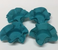 Kit of Wrappers for Wedding Sweets in Blue Tifany (50 pieces)