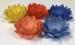Fabric  Wrappers for Wedding Sweets Lotus Flower (100 pieces) - online store