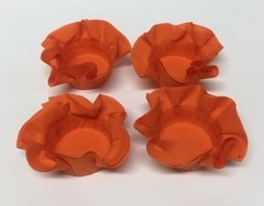 Kit of Wrappers for Wedding Sweets in Dark Orange (50 pieces)