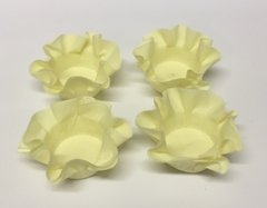 Kit of Wrappers for Wedding Sweets in Light Yellow (50 pieces)