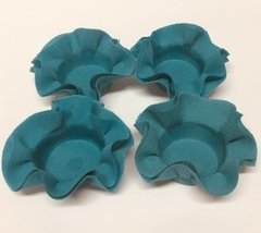 Kit of Wrappers for Wedding Sweets in Blue Tifany (50 pieces) - buy online