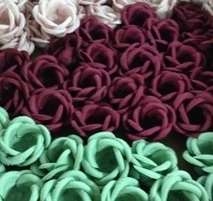 Fabric Flower Wrappers foe Sweets Marcia (30 pieces)