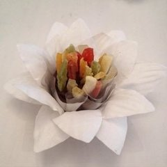 Fabric Flower Wrappers for Wedding Sweets Daisy (30 pieces) on internet