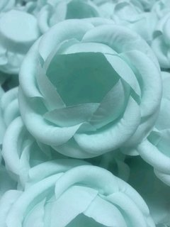 Fabric Flower Wrappers for Wedding Sweets Vanessa (100 pieces) - Celebrity Forminhas de Doces Para Casamento