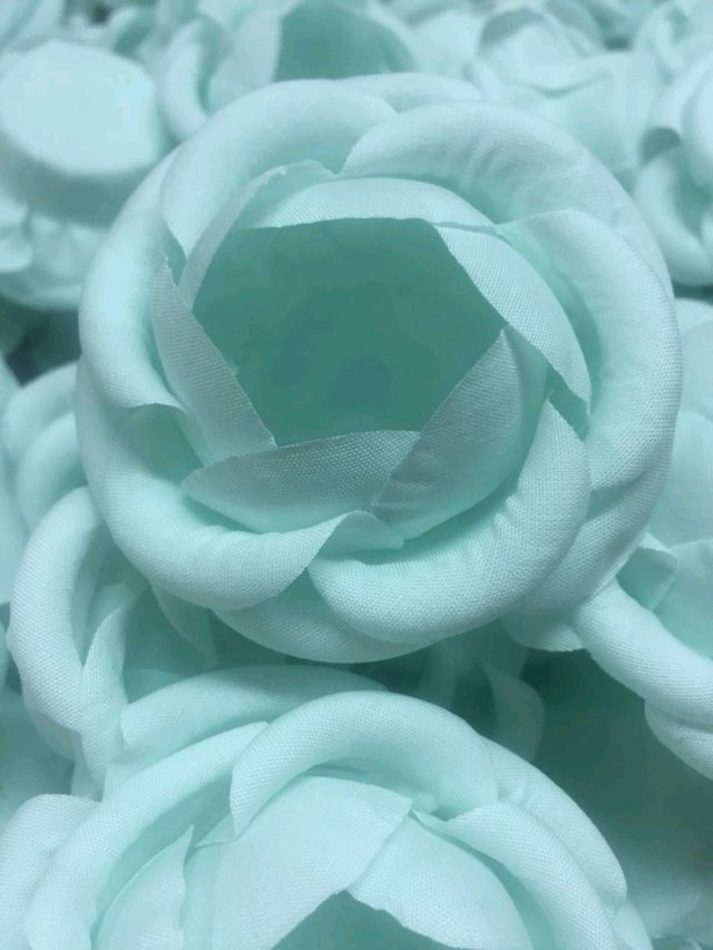 Fabric Flower Wrappers for Wedding Sweets Vanessa (30 pieces) - Celebrity Forminhas de Doces Para Casamento