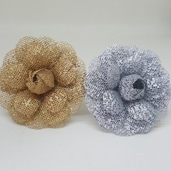 Napkin Holder for Weddings Flower in Ecomesh (10 pieces) - Celebrity Forminhas de Doces Para Casamento