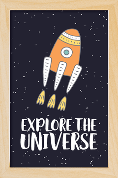 Quadro Explore the Universe #3 - Arteira Design