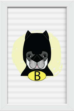 Quadro Dog Batman - Arteira Design