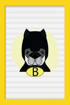 Quadro Dog Batman