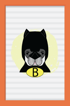 Quadro Dog Batman na internet