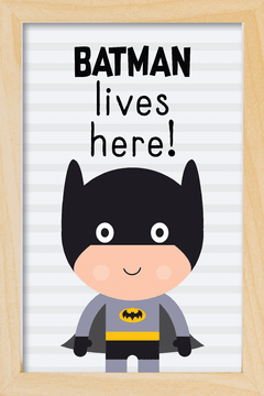 Quadro Batman Cute