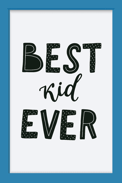 Quadro Best Kid Ever - comprar online