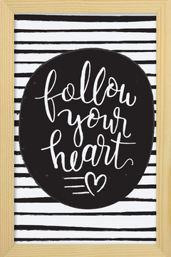 Quadro Follow your Heart #1 na internet