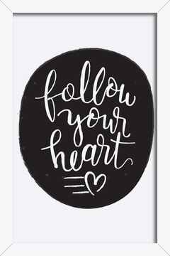 Quadro Follow your Heart #2 - Arteira Design