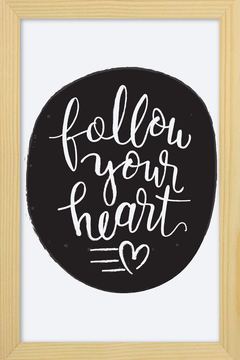 Quadro Follow your Heart #2 - comprar online