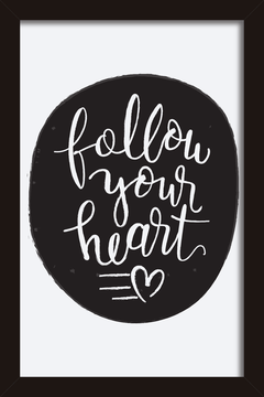 Quadro Follow your Heart #2 na internet