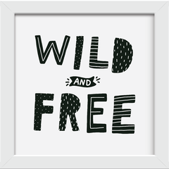 Quadro Wild and Free - Arteira Design