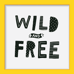 Quadro Wild and Free na internet
