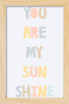 Quadro You are my Sunshine - Arteira Design
