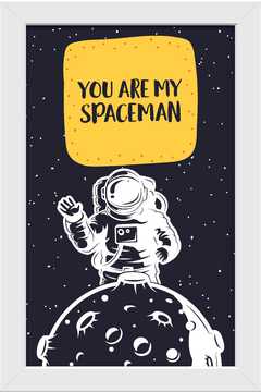Quadro You are my Spaceman #1 na internet