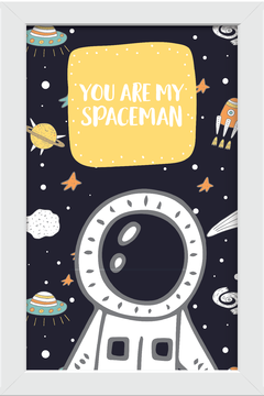 Quadro You are my Spaceman - Arteira Design