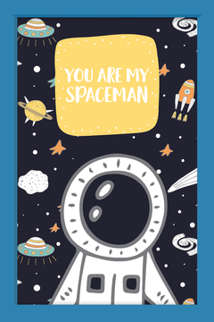 Quadro You are my Spaceman - comprar online