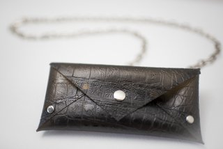 Pocket Chain croco cristal - buy online