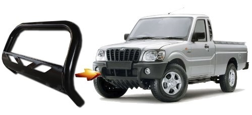 Para Choque De Impulsão Chapa Preto Mahindra Pik Up Cs Cd