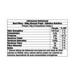 Best Whey - Sabor Abacaxi - Atlhetica Nutrition 900g - comprar online
